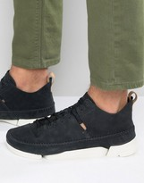 Clarks Trigenic Nubuck Sneakers
