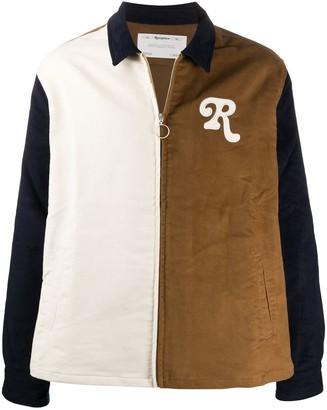 Reception Zip-Through Colour-Block Shirt Jacket