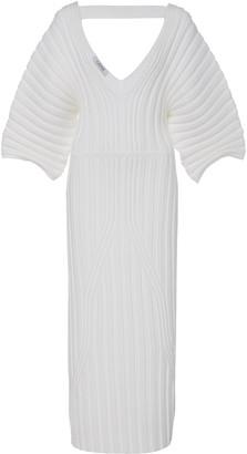Cushnie Ribbed Stretch-knit Pencil Dress