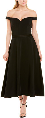 Jason Wu Collection Off-The-Shoulder A-Line Dress