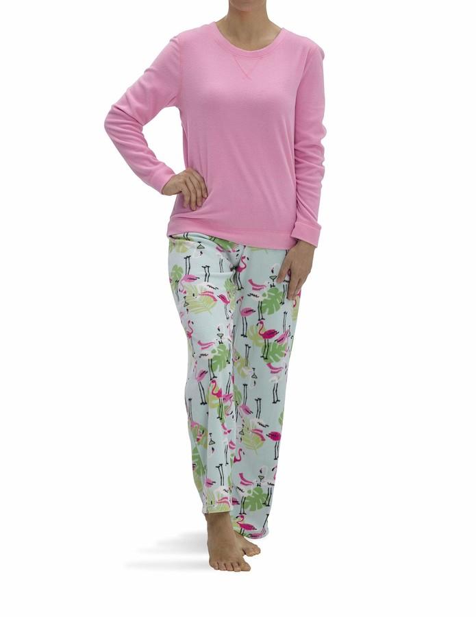 Ladies Womens  Cybele Lilac Patchwork Print Short Sleeves Pyjama Set Pjs Size:10