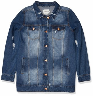 Junarose Women's Plus Size Atla Long Sleeve Jacket