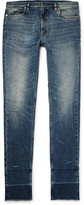 Maison Margiela Skinny-fit Distressed Stretch-denim Jeans