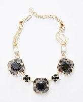 Ann Taylor Gallery Deco Statement Necklace