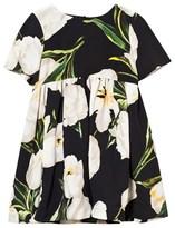 Dolce & Gabbana Ivory Tulip Print Dress with Knickers