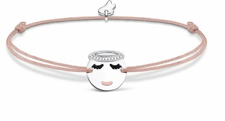 Thomas Sabo Women's 925 Sterling Silver Little Secret Angel Emoticon Bracelet LS042-380-19-L20v