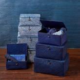 Marquis & Dawe Large Santorini Set Of Four Storage Boxes