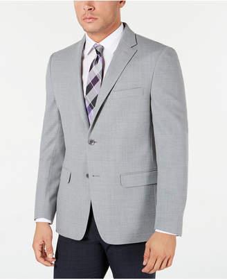 Tommy Hilfiger Men Modern-Fit THFlex Stretch Grey Sport Coat