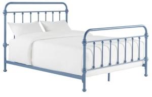Inspire Q Calvados Antique Metal Bed, Queen