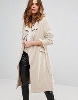 Sisley Belted Trench Coat