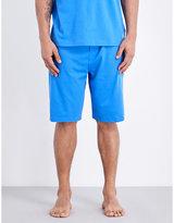 Polo Ralph Lauren Branded Cotton-jersey Shorts