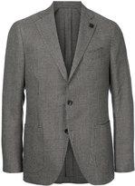 Lardini houndstooth two-button blazer