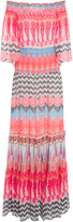 Temperley London Prophecy Off-The-Shoulder Long Dress