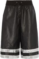 NO KA 'OI No Ka'Oi Kelani embellished shell shorts
