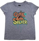 Quiksilver Little Girls Crew-Neck Short Sleeve T Shirt / Tee