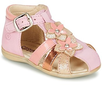Citrouille et Compagnie GHOUTIL girls's Sandals in Pink