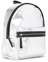 Forever 21 FOREVER 21+ Metallic Faux Leather Backpack