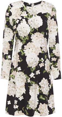 Goat Izzy Floral-print Cady Mini Dress