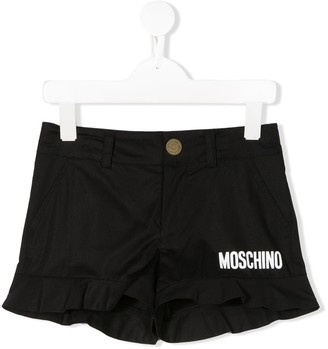MOSCHINO BAMBINO Frill Trim Shorts
