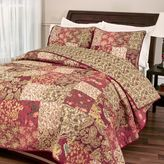 Bed Bath & Beyond Stanfield Quilt Set in Burgundy