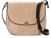 Sorial Janet Suede Saddle Crossbody