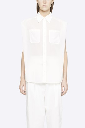3.1 Phillip Lim Sleeveless Voile Blouse