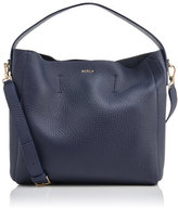 Furla Women's Capriccio Medium Hobo Bag Navy