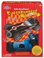T.S. Shure Rubber Band Powered SuperCharger Deluxe Racing Car Kit