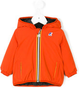 K Way Kids fleece lined hooded jacket