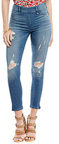 True Religion Runway Destroyed Cropped Legging