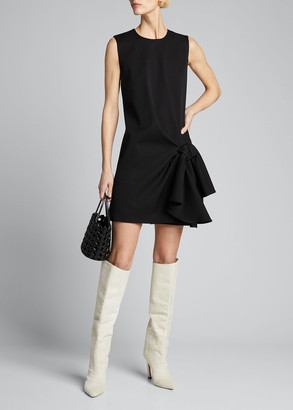 Carolina Herrera Bowed Sleeveless Shift Dress