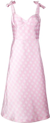 Cynthia Rowley Easton gingham check dress