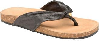 Ravel Glade Flat Toe-Post Leather Sandals