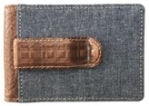 Boconi Men's Caleb Bifold Wallet With Money Clip - Brown