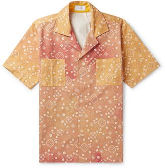 Rhude Camp-Collar Bandana-Print Cotton-Twill Shirt