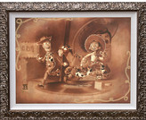 Disney Woody and Jessie ''Roundup Gang'' Giclée by Noah