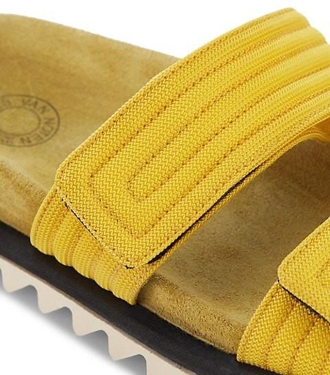 Thumbnail for your product : Dries Van Noten Trek-Sole Slides