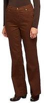 Liz Claiborne New York Petite Hepburn Boot Cut Denim Jeans