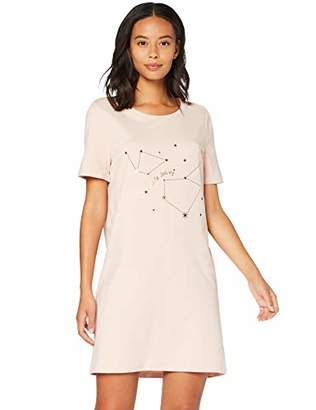 Iris & Lilly sa2504 Nightdresses for Women,(Size:S)