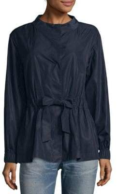 Lafayette 148 New York Samantha Matte Silk Blouse