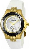 Technomarine Women's Cruise Diamond 35mm Silicone Band Quartz Watch Tm-115398
