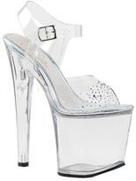 Pleaser USA Women's Taboo 708SD Ankle-Strap Sandal