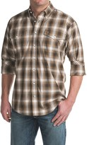 Cinch Plaid Woven Shirt - Button-Down Collar, Long Sleeve (For Men)
