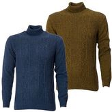 Gabicci Mens Jumper Knitwear Long Sleeve Rool Neck Sweater Size S-XXL