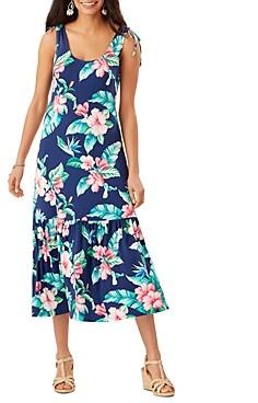 Tommy Bahama Floristic Approach Midi Dress