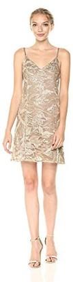 Somedays Lovin Women's Daybreak Embroidered Sequin Slip Dress