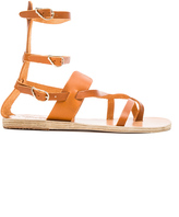 Ancient Greek Sandals Leather Alethea Sandals