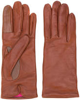 Paul Smith distressed stitch gloves