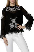 Sass Odalia Embroidered Blouse