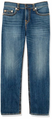 True Religion Men's Tall Size Devin Super T Loose Straight fit Jean